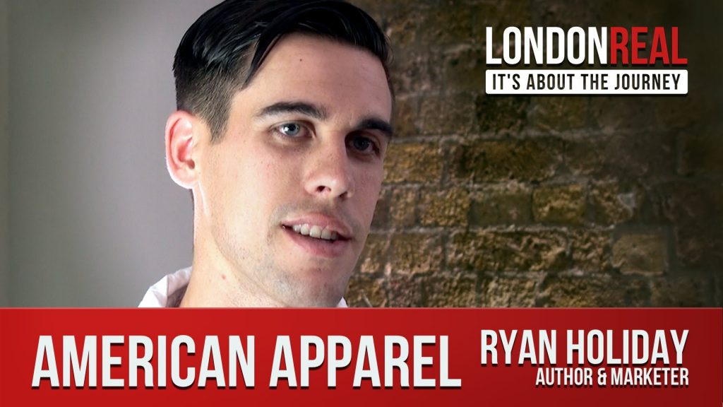 ryan holiday american apparel