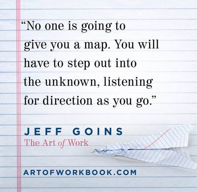 the art of work quote