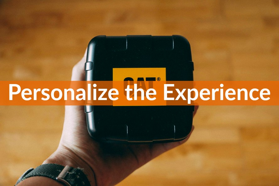 431 personalize the experience