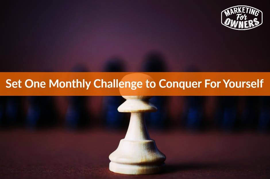 544 Set One Monthly Challenge to Conquer For Yourself