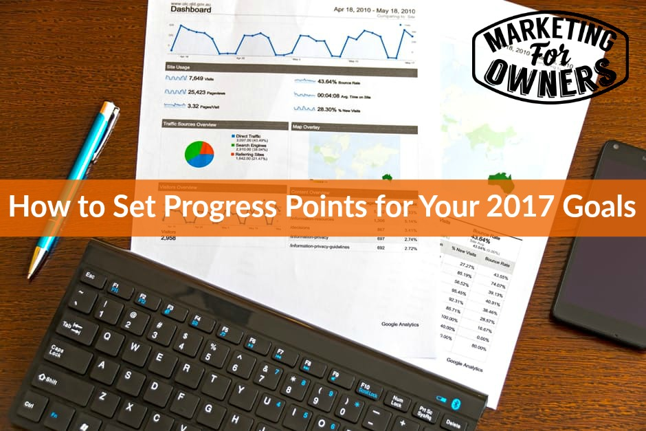 547 progress points for 2017 goals