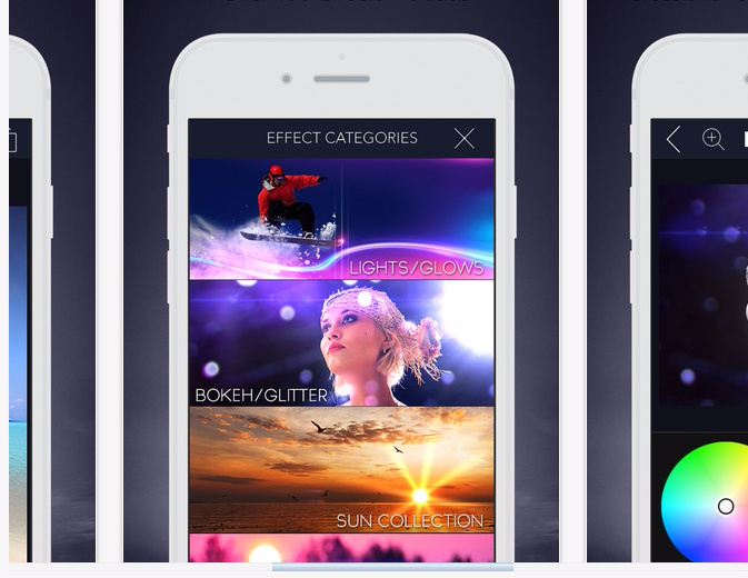 LensLight Visual Effects on the App Store.clipular