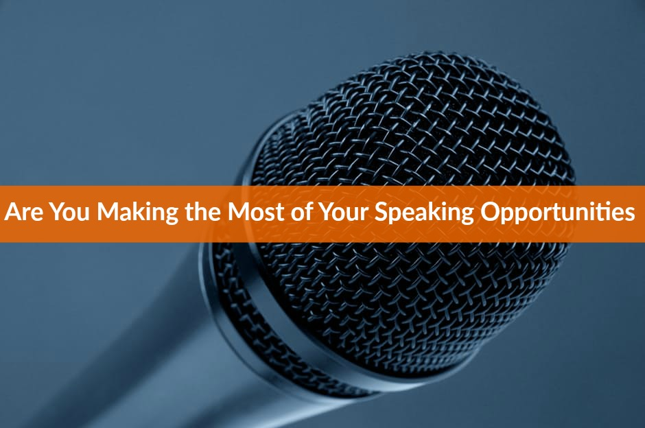 speaking opportunties
